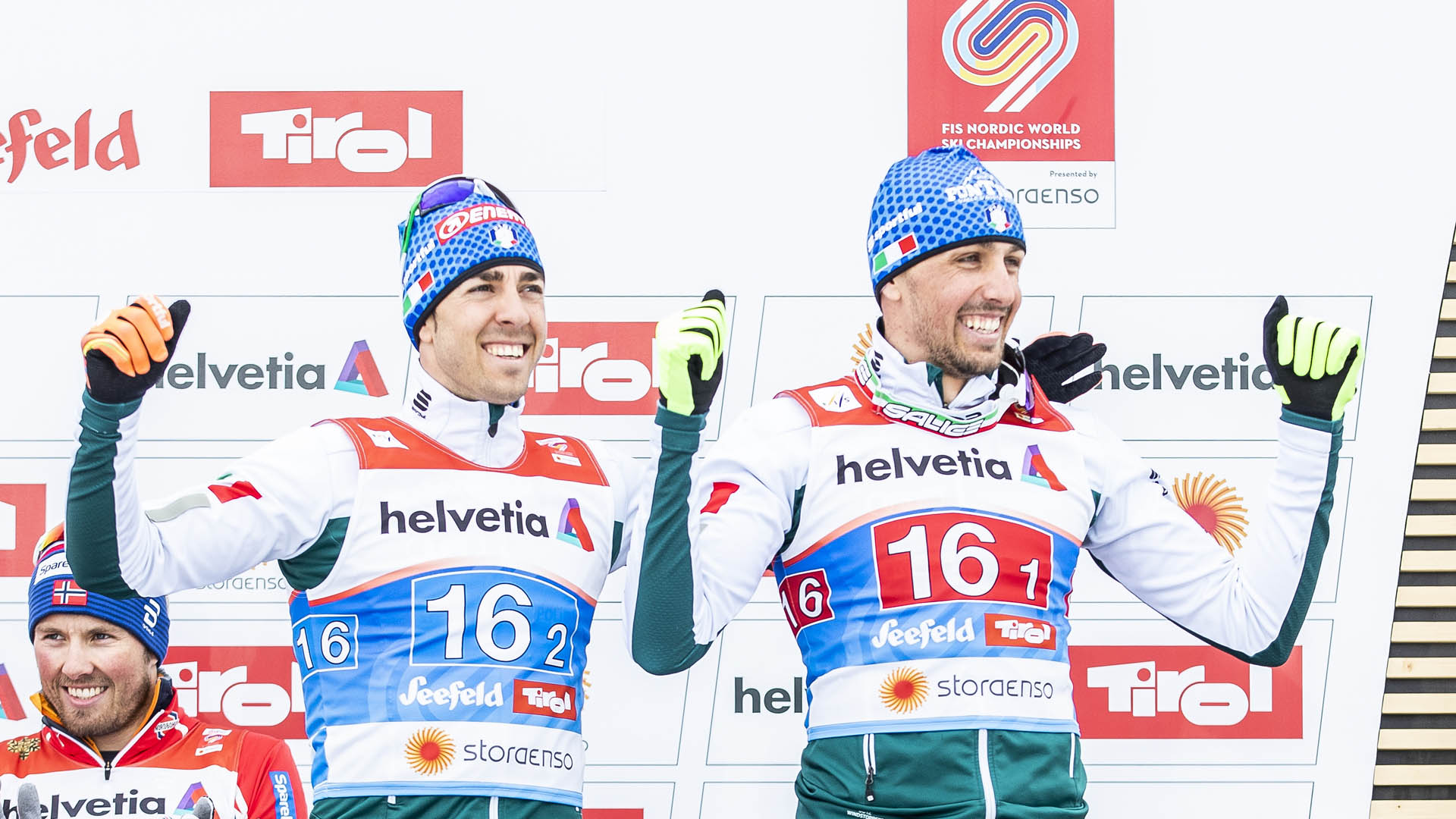 DE FABIANI AND PELLEGRINO BRONZE AT THE WORLDS TEAM SPRINT IN SEEFELD